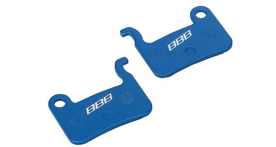 BBB BBS-54 DiscStop Bremsbelag Shimano blau